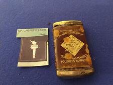 CELLULOID WRAP ARTHUR J ELSEY WAIT A MINUTE 1893 VESTA CASE MATCH SAFE STRIKER