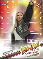 RONDA ROUSEY - 2019 TOPPS WWE ROAD TO WRESTLEMANIA SPOTLIGHT - 2/40