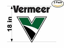 Vermeer 2 2 Stickers 18 inches Sticker Decal