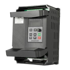 New 12A 220V 2.2KW Variable Frequency Drive VFD Variable Inverter High Speed UK
