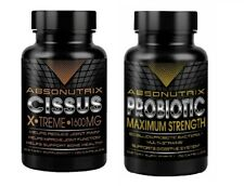 Absonutrix Cissus xtreme Maximum Strength 1600mg + Absonutrix Probiotic Max