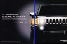 2008 Hummer H3 Alpha Original 2-page Advertisement Print Art Car Ad K04