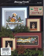 Holly Jolly Christmas Cross Stitch Book - Stoney Creek #295 - OOP