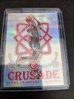 2016-17 Panini Excalibur Crusade Silver Jamal Crawford #76 Los Angeles Clippers