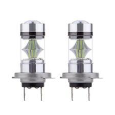 2pcs H7 100W LED 8000K Ice Blue Foglight feux de jour Ampoules