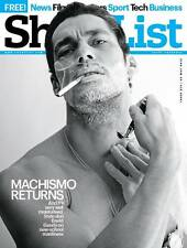 ShortList Magazine,David Gandy,Simon Pegg,Nick Frost,Nile Rodgers,Carl Froch NEW