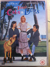 UMA THURMAN Ben Chaplin Jamie Foxx Truth About cani e gatti ~1996 romcom UK DVD