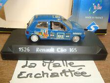 SOLIDO 1526 - RENAULT CLIO 16S AU 1/43° SERIE AL DÍA DE RENAULT ELFO 91