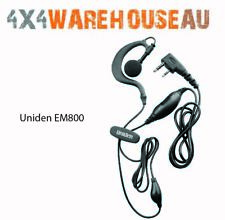 Uniden EM800 Heavy Duty Earpiece Microphone with Vox Switch