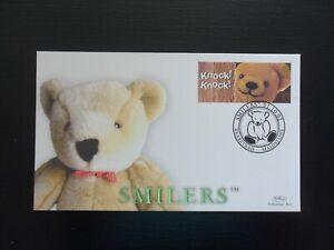 "2002. ""SMILERS"". BENHAM FDC: S/HS - BEARSTEAD. LTD EDITION RARE."