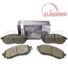 "Front Brake Pads for NISSAN NAVARA D40 + PATHFINDER R51 - 17"" wheels - 2005-2014"