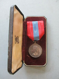 Imperial Service Medal (QEII) George Albert Mansfield, Iron Caulker, Portsmouth