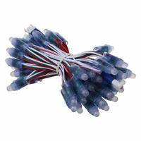 50X 12mm Module LED WS2811 numerique adressable RGB Pixel Light Strip 5V Et P1A6
