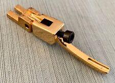 Vtg Takeuchi Floyd Rose Tremolo Bridge Original Gold String Saddle