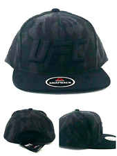 UFC Reebok New MMA Fighters Gray Black Camo Fight Night Era Snapback Hat Cap