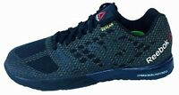 REEBOK Mens Crossfit Nano 5.0 trainers V67608 UK 5.5,6,6.5,7,7.5,12,13 black