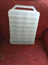 Plastic Nail Polish Portable Carry Case 44 Slots +