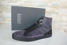 HOGAN REBEL 40,5 6,5 High Top Sneakers Schnürschuhe NEU Schuhe blau ehem.UVP298€