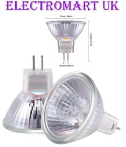 2 X MR11 GU4 20W HALOGEN 12V FIBER OPTIC CHRISTMAS XMAS TREE LAVA LAMP BULB