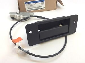 Ford E150 E250 Side Hinged Door Handle w/ Cable & Latch New OEM 6C2Z-15264A01-AA