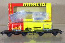 FLEISCHMANN 1453N DB Drehschemelwagen GOODS TRANSPORT FLAT WAGON SET 622-1 ni