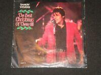 "Shakin' Stevens - The Best Christmas Of Them All - Vinyl Record 7"" Single - 1990"