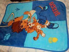 9C LN 30x45 Dora the Explorer DIEGO Leopard Minky Plush Baby Blanket Comforter