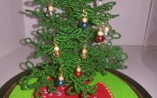 12 Mini Christmas Ball ornaments for Westrim Beaded Miniature Christmas Tree