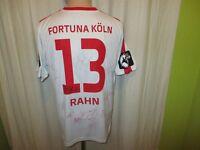 """Fortuna Köln Jako Matchworn Trikot 2015/16 """"HIT"""" + Nr.13 Rahn + Signiert Gr.L"""