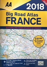 AA Big Road Atlas France 2018 (Road Map) A3 - RRP: £9.99