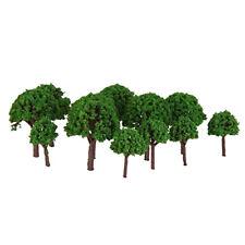 50Pcs Artificial Tree Model Mini Simulation Tree Miniature Diorama Models 1:500