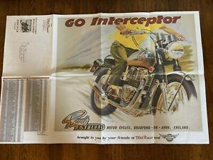 Domi Racer Poster Royal Enfield Go Interceptor