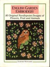 English Garden Embroidery: 80 Original Needlepoint