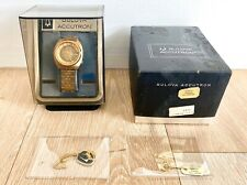 1974 Bulova Accutron Day Date 2182 Tuning Fork LNIB (Store Display)  Full set.