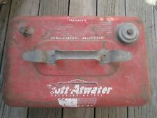 "Vintage Scott Atwater ""Stowaway"" Outboard Boat Motor Metal Gas Can"