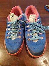 Nike Kobe Ix 9 Em Gs Girls Size 5 5y shoes Pink Blue youth mamba basketball lake