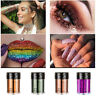 Holographic Sequins Glitter Pigment Eye Shadow Body Tattoo Nail Cosmetic Shimmer