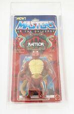 ! eh! Man Masters of the Universe MOC en su embalaje original con Rattlor protección Case
