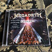 MEGADETH cd ENDGAME original ROADRUNNER 2009 cd Metallica