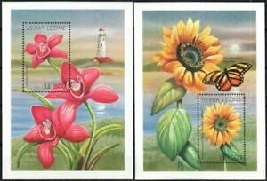 Sierra Leone Stamp - Flowers Stamp - NH