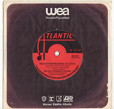 DELANEY & BONNIE & FRIENDS - NEVER ENDING SONG OF LOVE Very rare 1971 OZ Single!
