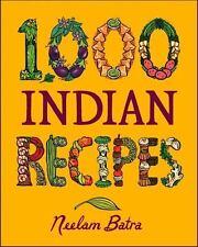 1,000 Indian Recipes (1,000 Recipes), Batra, Neelam, Good Book