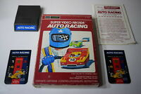 Auto Racing Sears Intellivision Video Game Complete in Box