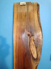 """# 7166 Black Walnut Live Edge Slab lumber craft wood 72""""L 12""""W 2 9/16""""T"""