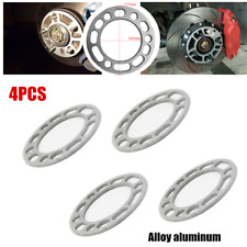 4x6mm Car Wheel Spacers Shims Adaptor Alloy Aluminum Widen Shims Plate Universal