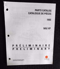 GENUINE 1993 SEA DOO XP 5852 JET SKI WATERCRAFT WAVERUNNER PARTS MANUAL