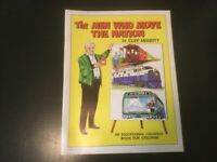 THE MEN WHO MOVE THE NATION COLORING BOOK BY CLIFF MERRITT 1965 RARE 40PAGE BOOK