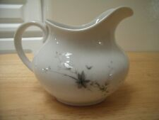 Royal Doulton China England Greenbrier Pattern Gray Leaves Pitcher Creamer