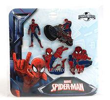 NEW Universal Studios Marvel Spider-Man Pins - 4-Pin Set