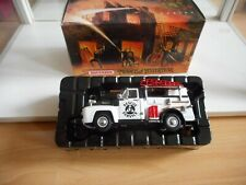 Matchbox Models of Yesteryear 1954 Ford Civil Defense Truck in White/Black - Box